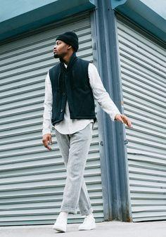 Abasi Rosborough. menswear mnswr mens style mens fashion fashion style campaign lookbook abasirosborough