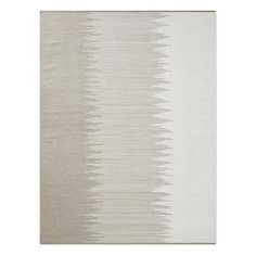 Perennials® Ikat Stripe Indoor/Outdoor Rug, Flax