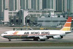 BOEING 707 FREIGHTER - AIR HONG-KONG - KAIT TAK