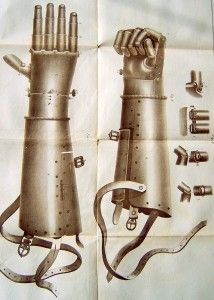 Götz von Berlichingen, also known as Götz of the Iron Hand, was a famous German mercenary knight employed by the lords and kings of the time to do their Mechanical Arm, Landsknecht, Vintage Medical, 16th Century, Futuristic, Inventions, Knight, The Past, Iron