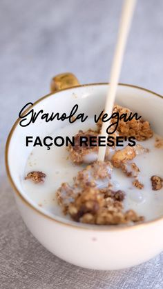 Vegan Breakfast Recipes, Vegan Desserts, Menu Dieta, Healthy Cake, Muesli, Diy Food, Love Food, Sweet Recipes, Brunch
