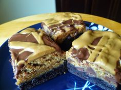 Biscoff Blondie Brownies