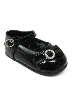 Loving this Black Alice Ankle-Strap Flat on #zulily! #zulilyfinds
