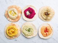 Reinvent basic hummus with new takes on the creamy classic.