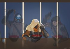 Don't cry Shiro you're making me cry Destiny Bungie, Destiny Cayde 6, Destiny Fallen, Destiny Comic, Destiny Hunter, Destiny Backgrounds, Character Art, Character Design, Video Game Art