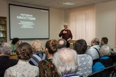 Олександр Іванов читає уривок із твору М. Зощенка «Кінодрама»