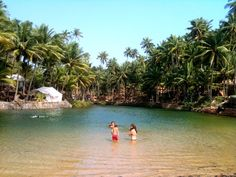 11 Secret beaches in Goa - (Pic: Hidden lagoon on Cola Beach) Goa Travel, Paris Travel, Travel Tips, Goa India, India Tour, Places To Travel, Places To Visit, Architecture Design, Best Holiday Destinations