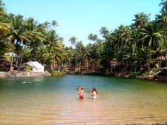 11 Secret beaches in Goa - (Pic: Hidden lagoon on Cola Beach)
