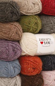 DROPS ♥ You #4 colour chart ~ DROPS Design