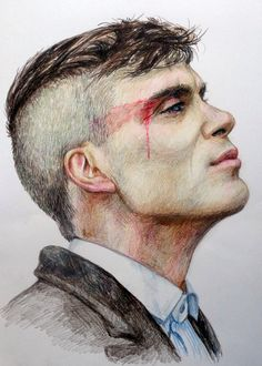 7 Advice That You Must Listen Before Embarking On Peaky Blinders Gallery Tattoo Peaky Blinders Poster, Peaky Blinders Wallpaper, Peaky Blinders Thomas, Peaky Blinders Quotes, Cillian Murphy Peaky Blinders, Portrait Sketches, Art Drawings Sketches, Dark Art, Artwork