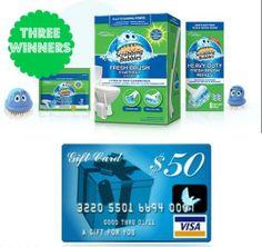 LOW ENTRIES!  3 Winners get gift packs + $50 Visa Gift Cards #giveaway ends 04-29