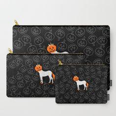 Jack O Unicorn Carry-All Pouch