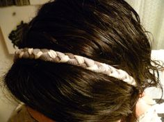 DIY : Headband with old T-shirts | Recyclart