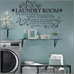 Cute Laundry Room Sayings Laundry The Never Ending Story' Wallquotes Decal  Craft Room
