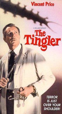 Written by Robb White, The Tingler is the third of five movies he made with William Castle such as 1959's House On Haunted Hill. The Tingler!  As a small child...scared the crap out of me.