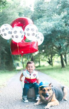 Paw Patrol Party, Paw Patrol Photoshoot ideas #pawpatrol #photoshoot #withlovephotography