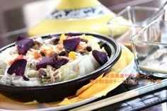 奈良県産ヤマトポークと季節の野菜チーズミルフィーユタジン鍋
