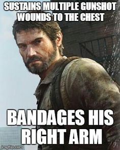Boo boo problems #thelastofus