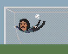 Rene Higuita  by 8bit Football