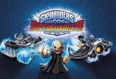 Skylanders SuperChargers Dark Edition Gameplay + Kaos Teaser