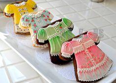 Sweet dress cookies