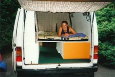Converting a Van to a Campervan - check out websites