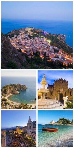 Italy Travel Inspiration - Taormina, Italy is a storybook Sicilian town