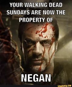 Sundays are Over <<^^ This is exactly how I feel. I have been robbed of the Walking Dead and now it's just Dead People.