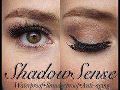 How I use SHADOWSENSE |Sandstone Pearl Shimmer, Mocha Java, Onyx| - YouTube