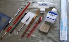 Connie Williams Watercolor Meanders: Top 10 Watercolor Masking Tools and Supplies