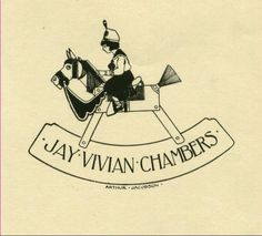 Confessions of a Bookplate Junkie: Who Is Jay Vivian Chambers?