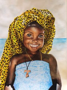 Colored pencil work