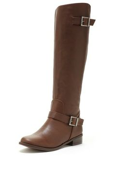 the perfect brown riding boot i've been looking for