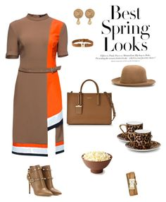 """Untitled #207"" by ycsandjaja on Polyvore featuring Lattori, H&M, Valentino, DKNY, ISABEL BENENATO, Asprey, Tory Burch, Chloé, Salvatore Ferragamo and women's clothing"