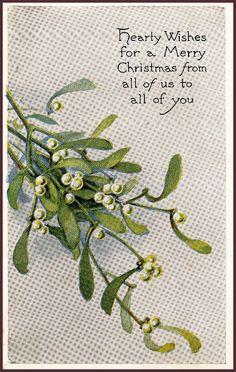 #Christmas #vintage #postcard