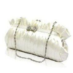 The Bowknot Bride Bag Wedding Handbag  *Free Shipping* for R310.00 Beautiful Bride, Handbags, Wedding, Free Shipping, Valentines Day Weddings, Totes, Purse, Hand Bags, Weddings
