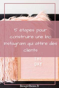 Bio Instagram, Photo Pour Instagram, Citations Pour Instagram, Client, Community Manager, Ecommerce, Digital Marketing, Communication, Infographic