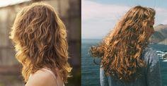 Cabelo ondulado 2B finalização cabelos ondulados