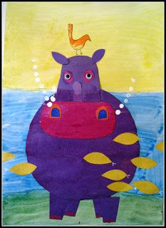 Plateau art studio very fun art for kids room? art studio в African Art Projects, Animal Art Projects, Jungle Art Projects, Kids Room Art, Art For Kids, Kindergarten Art Projects, 2nd Grade Art, Ecole Art, Africa Art