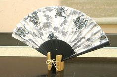 Authentic Japanese Hand Fan - Dragon (White)!!!! $25.00  The Japanese hand fans are an important symbol in Japan . They were used by warriors as a form of weapon, actors and dancers for performances, and children as a toy. In Japan fans are given to others as present and serve as trays for holding gifts. You would also find them sometimes used in religious ceremonies and events.