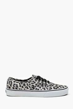 #Authentic Sneaker - Snow Leopard