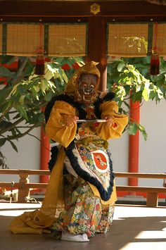 Traditional Japanese Court dances and music - Bugaku -