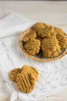 Cookie Recipes, Vegan Recipes, Biscotti Cookies, Vegan Sweets, Vegan Food, Vegan Cake, Vegan Gluten Free, Granola, Good Food