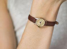 $$$ - $89.00  Watch option 3/3.  Small women's watch Glory simple woman's wristwatch by SovietEra