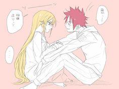 Soma x Erina Nalu, Shokugeki No Soma Anime, Anime Base, Image Manga, Manga Couple, Cute Couple Pictures, Neon Genesis Evangelion, My Hero Academia Manga, Cute Anime Couples