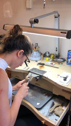 ✔ Diy Bracelets For Men Videos Jewelers Workbench, Diy Workbench, Industrial Workbench, Workbench Organization, Jewelry Tools, Soldering Jewelry, Jewelry Making Tutorials, Dremel, Bracelets For Men