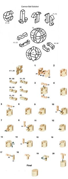 cannon ball brain teaser puzzle solution  http://www.craftypuzzles.com/solutions.htm