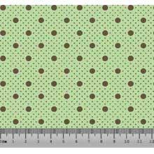 Bolinha Bolão Desenho 2326 var05 - Verde com Khaki