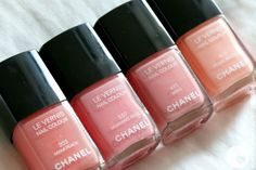 Chanel, shades of pink!
