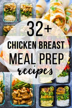 32 + Chicken Breast Meal Prep Recipes Sweet Peas and Saffron healthy chicken breast recipes - Dinner Recipes Clean Eating Chicken, Chicken Meal Prep, Clean Eating Recipes, Clean Eating Snacks, Healthy Eating, Eating Habits, Clean Eating Prep, Healthy Food, Healthy Weight
